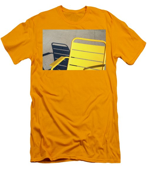 A Chair And Its Shadow Men's T-Shirt (Slim Fit) by Joseph S Giacalone
