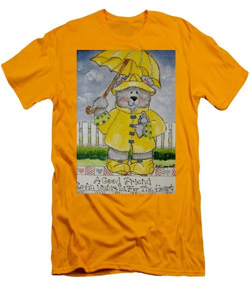 A Good Friend Men's T-Shirt (Athletic Fit)