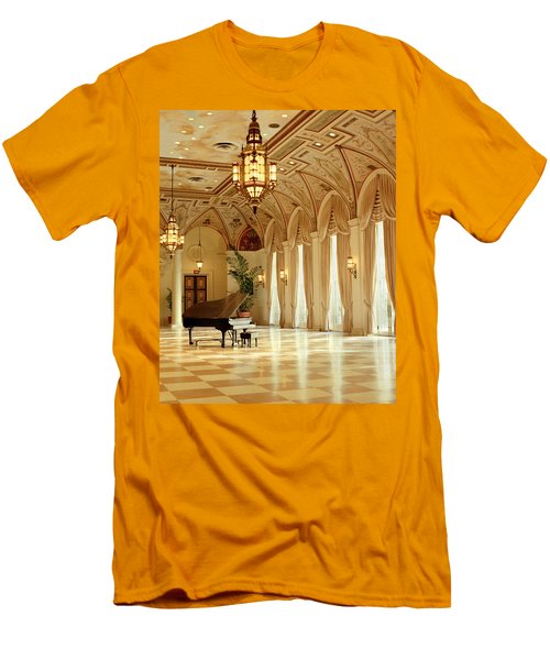 A Grand Piano Men's T-Shirt (Athletic Fit)