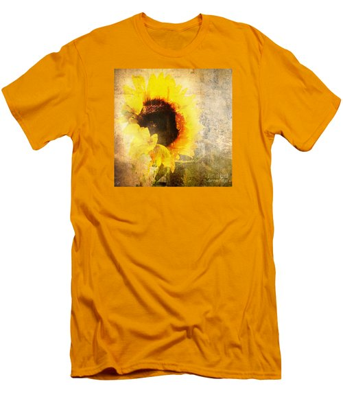 Men's T-Shirt (Athletic Fit) featuring the photograph A Memory Of Summer by LemonArt Photography