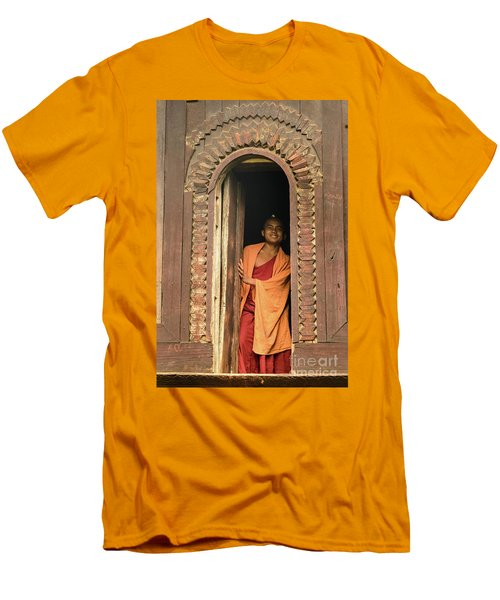 A Monk 4 Men's T-Shirt (Athletic Fit)