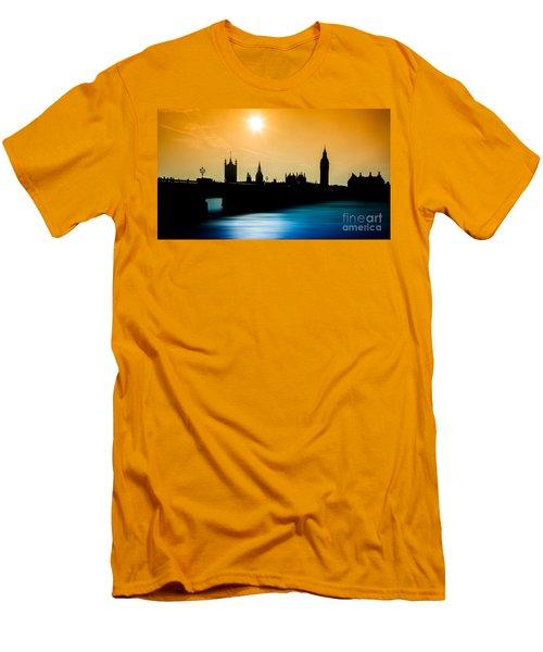 A Sunny Shape Men's T-Shirt (Slim Fit) by Giuseppe Torre
