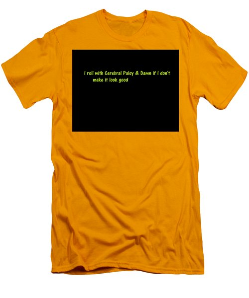 Men's T-Shirt (Athletic Fit) featuring the photograph A Touch Of Truth by Aaron Martens