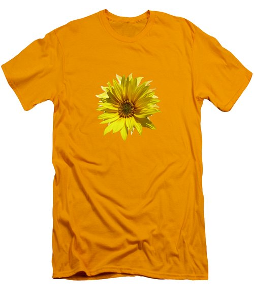 A Vase Of Sunflowers Men's T-Shirt (Athletic Fit)