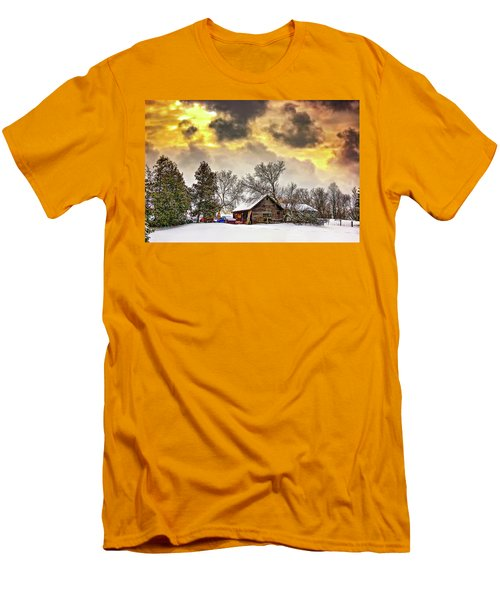 A Winter Sky Men's T-Shirt (Athletic Fit)