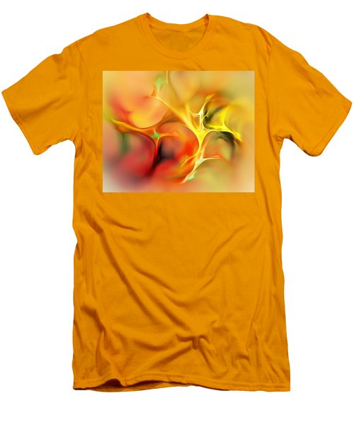 Abstract 061410a Men's T-Shirt (Athletic Fit)