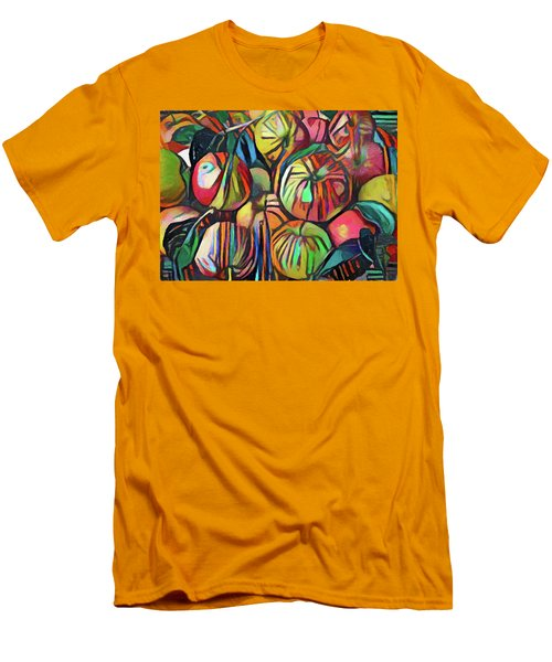 Abstract Apples Men's T-Shirt (Athletic Fit)