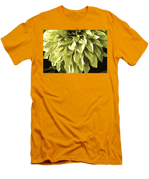 Abstract Flower 5 Men's T-Shirt (Athletic Fit)