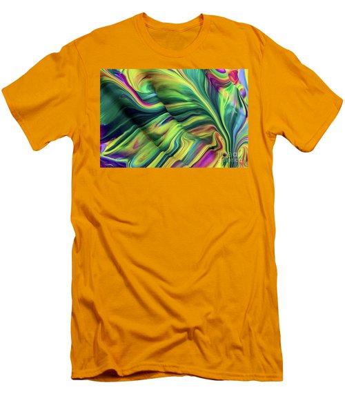 Aegean Wave Men's T-Shirt (Athletic Fit)