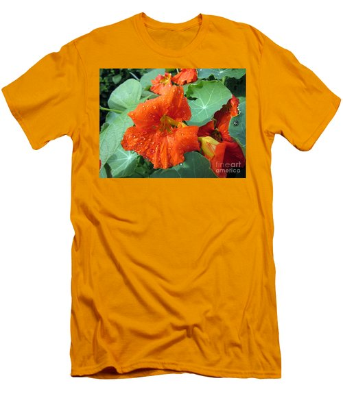 After Rain Men's T-Shirt (Slim Fit) by Vesna Martinjak