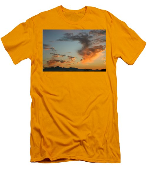 Men's T-Shirt (Slim Fit) featuring the photograph Air Ball Cough by Marie Neder