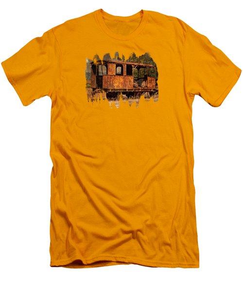 All Aboard Men's T-Shirt (Slim Fit) by Thom Zehrfeld