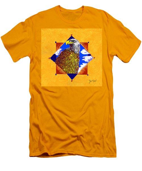 American Spirit Men's T-Shirt (Slim Fit) by John Keaton