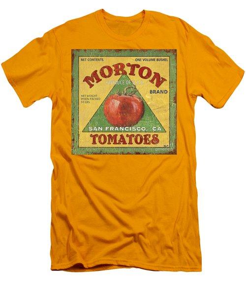American Veggies 2 Men's T-Shirt (Slim Fit) by Debbie DeWitt