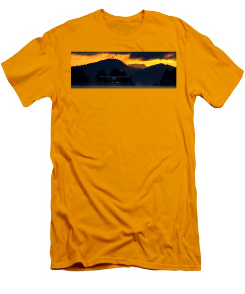An Early Departure Men's T-Shirt (Slim Fit) by Mark Alan Perry