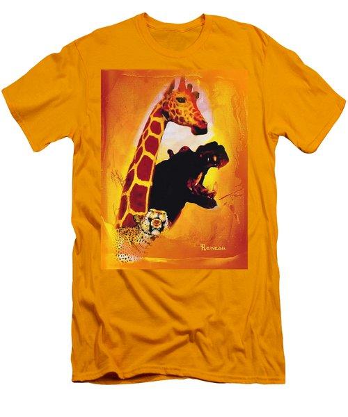 Animal Farm Men's T-Shirt (Slim Fit) by Sadie Reneau