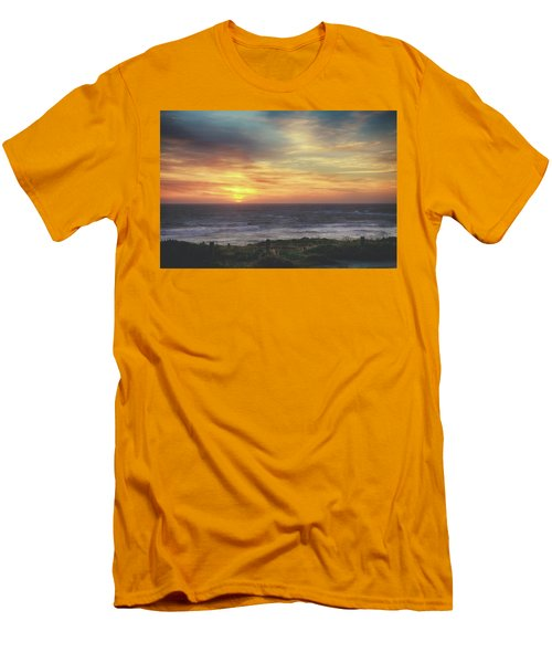 Another Goodbye Men's T-Shirt (Slim Fit) by Laurie Search