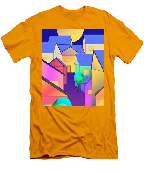 Arfordir Vi Men's T-Shirt (Athletic Fit)