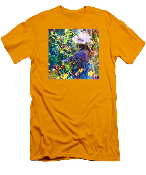 Men's T-Shirt (Slim Fit) featuring the photograph Aromatherapy by LemonArt Photography