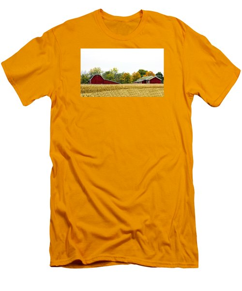 Autumn Barns Men's T-Shirt (Athletic Fit)
