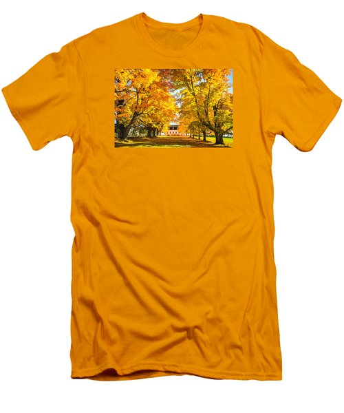 Men's T-Shirt (Slim Fit) featuring the photograph Autumn Gold IIi by Robert Clifford