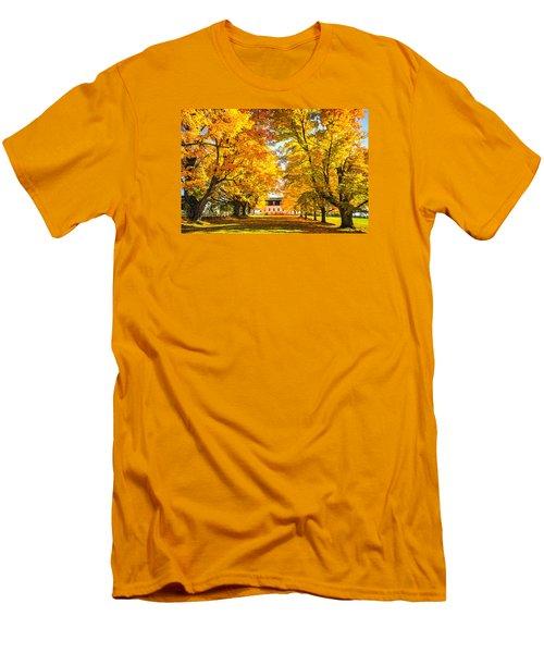 Autumn Gold IIi Men's T-Shirt (Slim Fit) by Robert Clifford