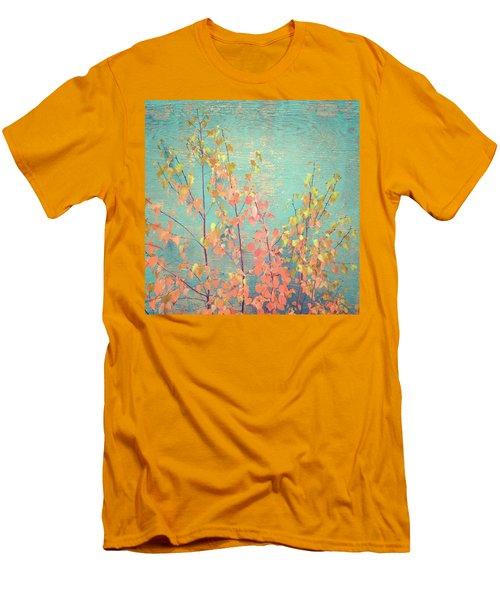 Men's T-Shirt (Slim Fit) featuring the photograph Autumn Wall by Ari Salmela