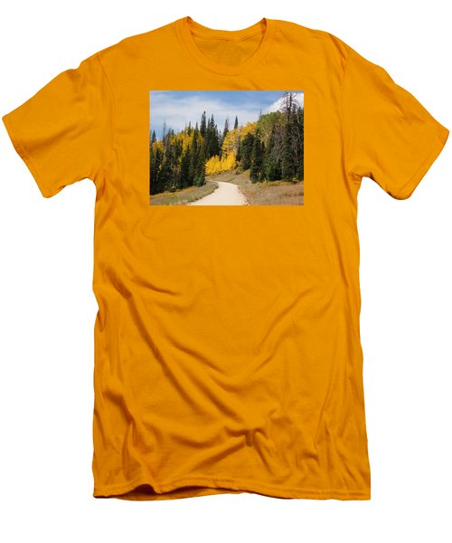 Autumnal Forest-dixie National Forest Utah Men's T-Shirt (Slim Fit) by Deborah Moen