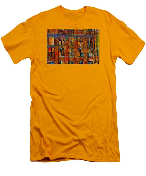 Avant-garde Building Men's T-Shirt (Athletic Fit)