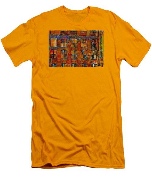 Avant-garde Building Men's T-Shirt (Athletic Fit)