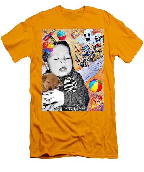 Baby Dreams Men's T-Shirt (Slim Fit) by Vennie Kocsis