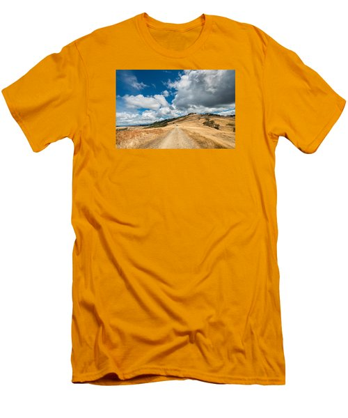 Ball Hills In Summer 3 Men's T-Shirt (Athletic Fit)