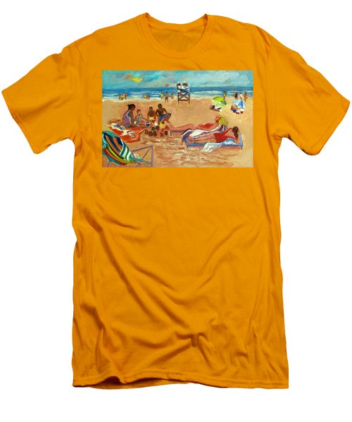 Beach In August Men's T-Shirt (Athletic Fit)