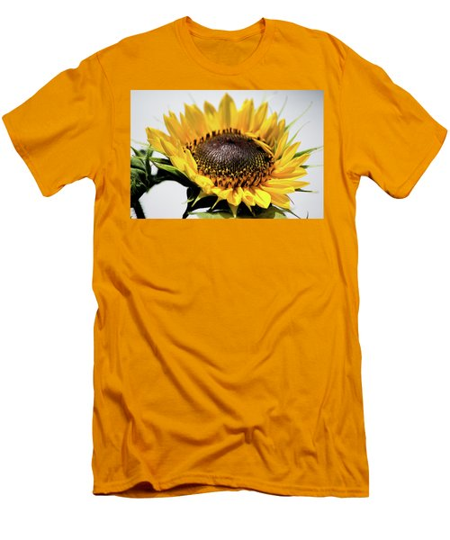 Beginning To Bloom Men's T-Shirt (Slim Fit) by Ed Waldrop