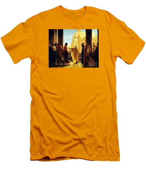 Behold The Man Men's T-Shirt (Slim Fit) by Celestial Images