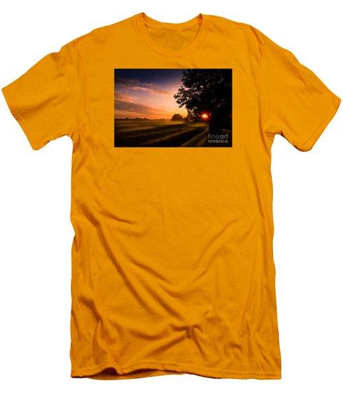 Beloved Land Men's T-Shirt (Slim Fit) by Franziskus Pfleghart