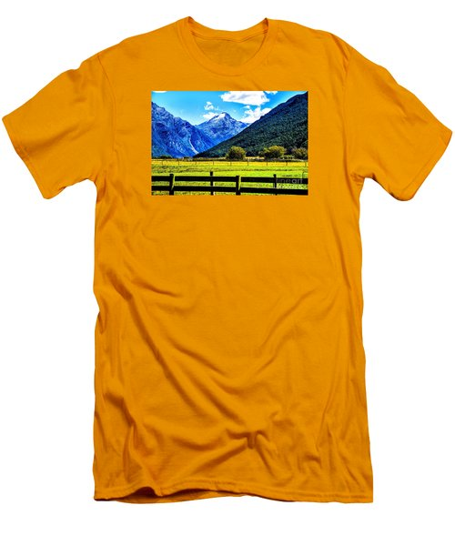 Beyond The Fence Men's T-Shirt (Athletic Fit)