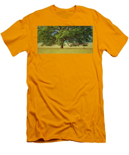 Big Oak Men's T-Shirt (Athletic Fit)