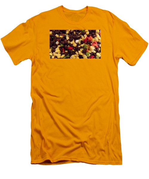 Blackbean Salad Men's T-Shirt (Athletic Fit)