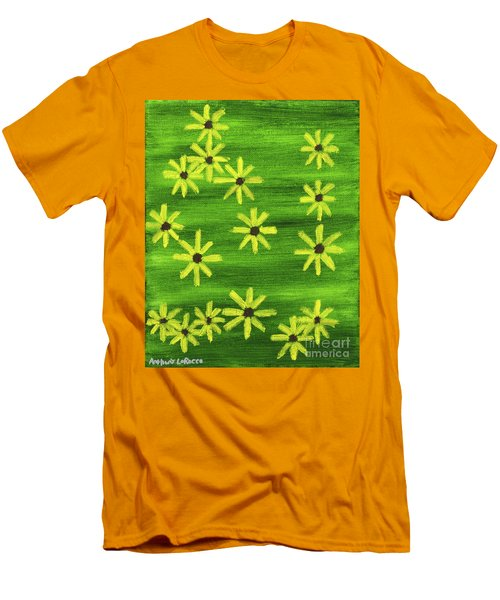 Blackeyed Susan Men's T-Shirt (Athletic Fit)