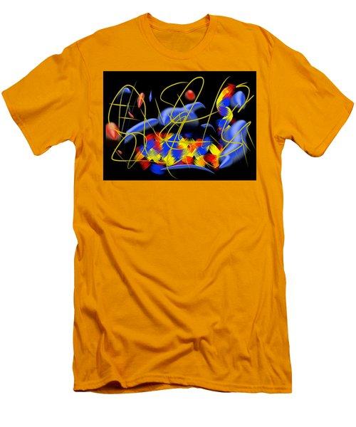 Blown Men's T-Shirt (Slim Fit) by Paulo Guimaraes