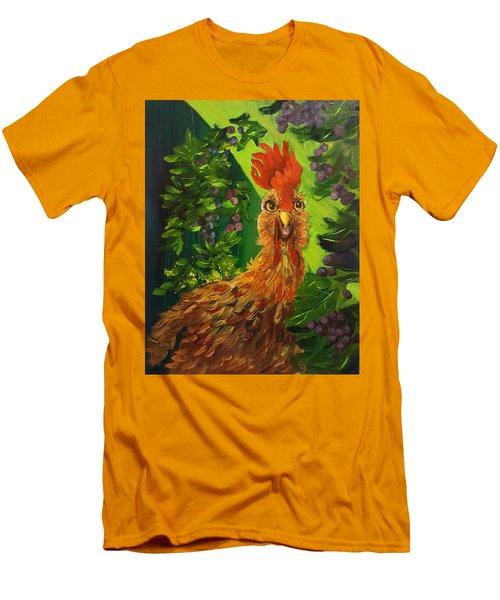 Bobbies Fermented Grapes   90 Men's T-Shirt (Athletic Fit)