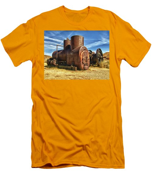 Old Boiler Bodie State Park Men's T-Shirt (Athletic Fit)