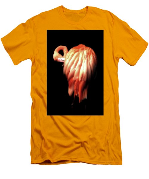 Bowie Flamingo Men's T-Shirt (Athletic Fit)
