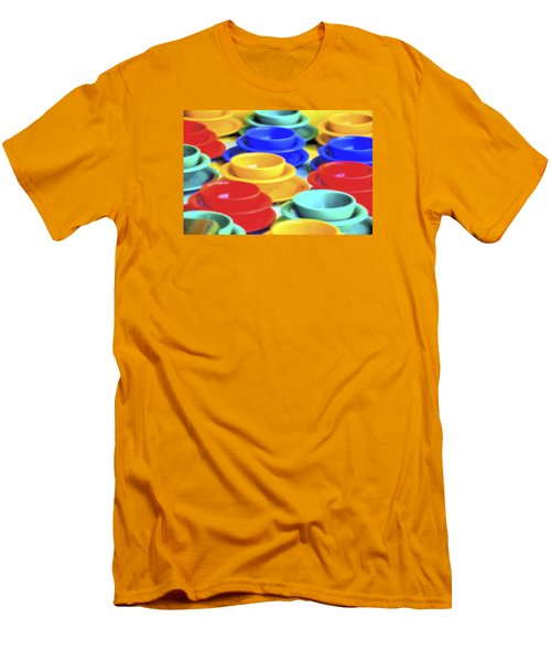 Men's T-Shirt (Slim Fit) featuring the photograph Bowls In The Window by Tom Singleton