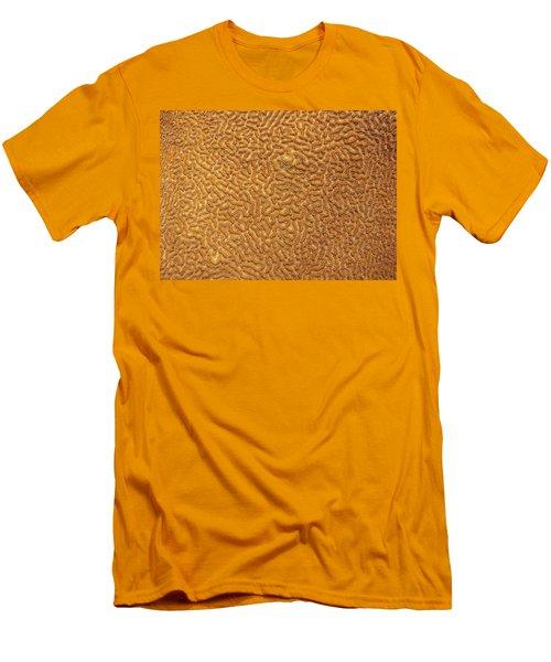 Brain Coral 47 Men's T-Shirt (Slim Fit) by Michael Fryd
