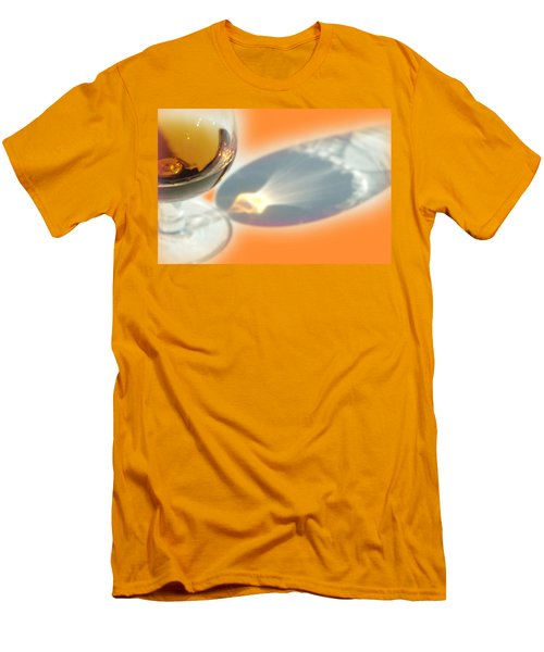 Brandy Glass Reflection Men's T-Shirt (Athletic Fit)