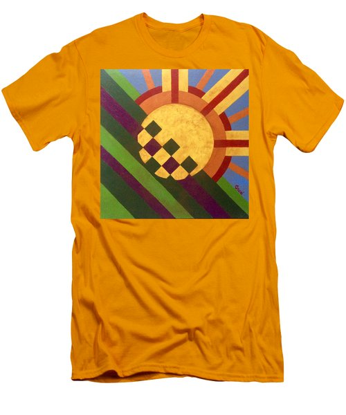 Cbs Sunday Morning Breaking Day Men's T-Shirt (Athletic Fit)