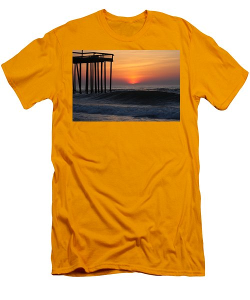 Breaking Sunrise Men's T-Shirt (Athletic Fit)