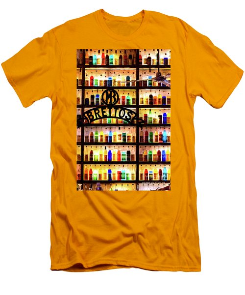 Brettos Bar In Athens, Greece - The Oldest Distillery In Athens Men's T-Shirt (Athletic Fit)